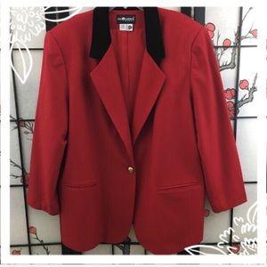 Sag Harbor Red Blazer
